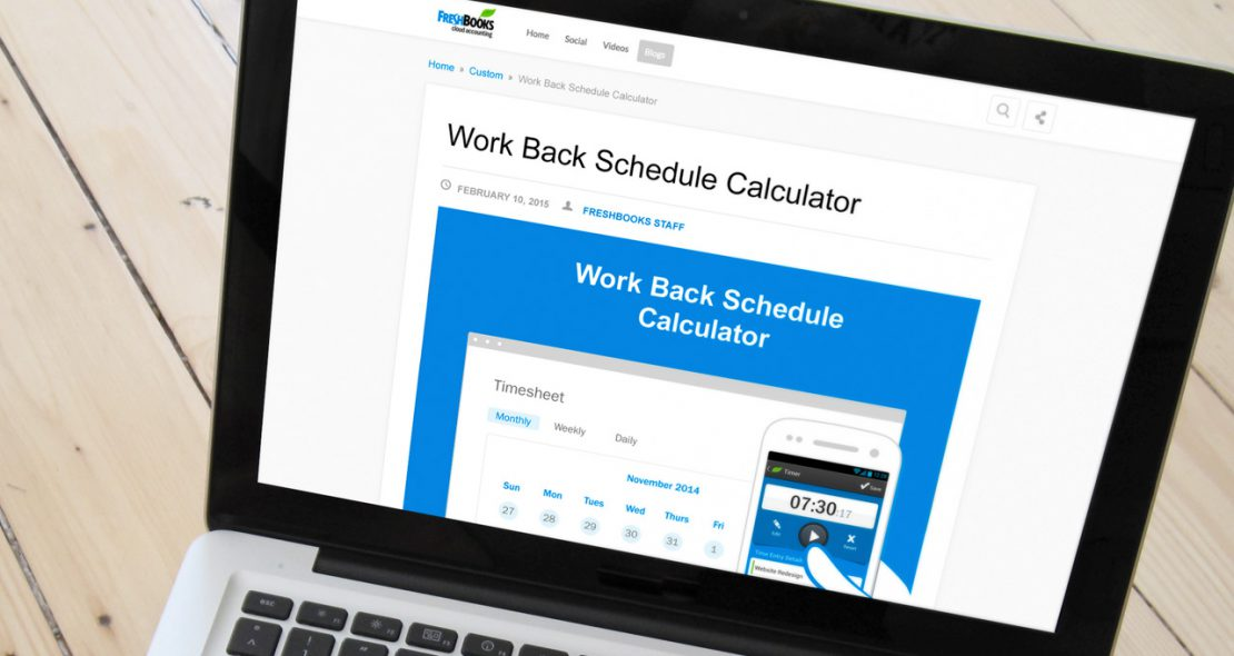 Freshbooks Calculator