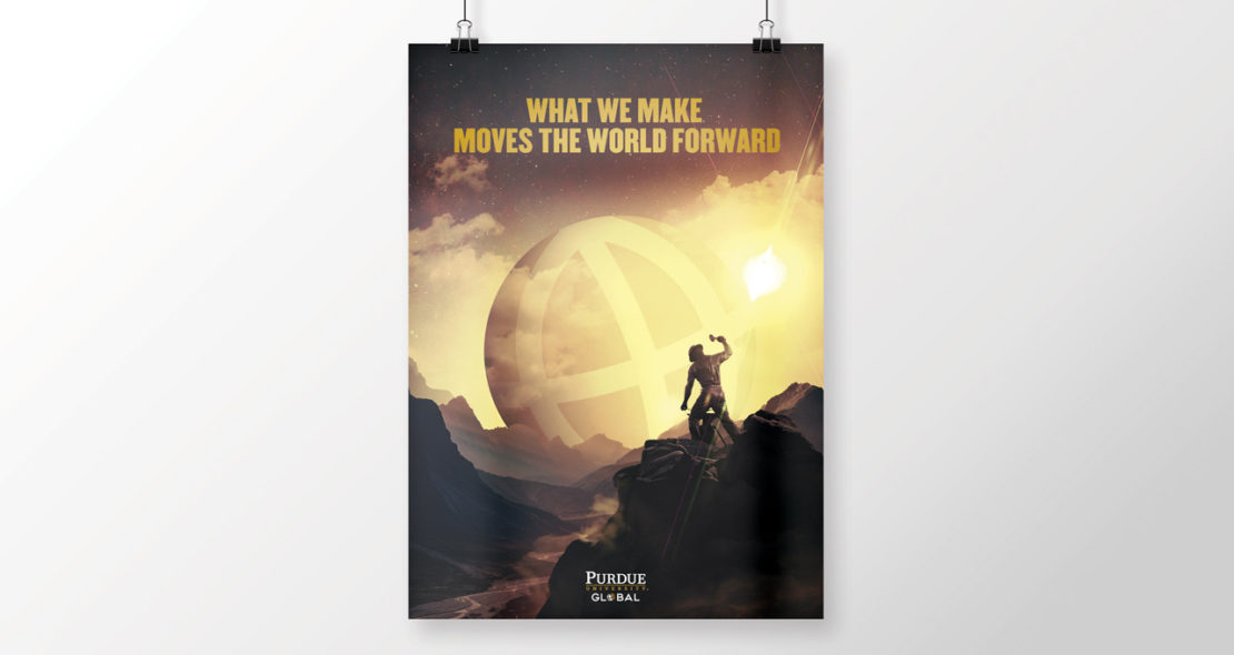 Purdue Global Poster